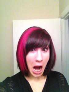 Latest hair change!